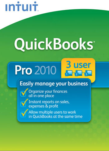 Intuit QuickBooks 2010 has been a signature product in Intuit's portfolio