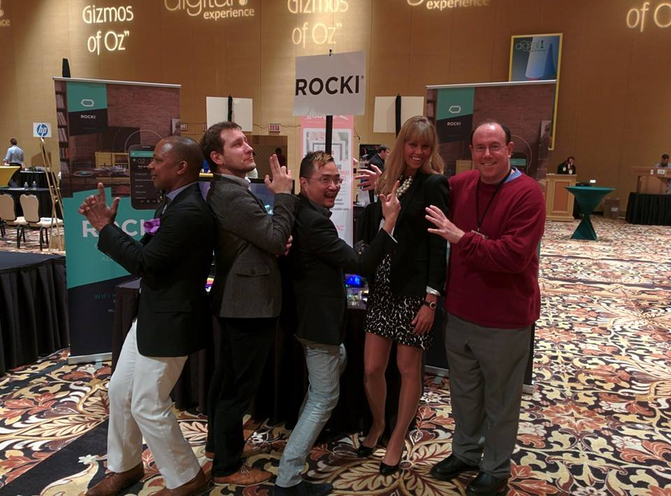 ROCKI at Digital Experience CES 2014