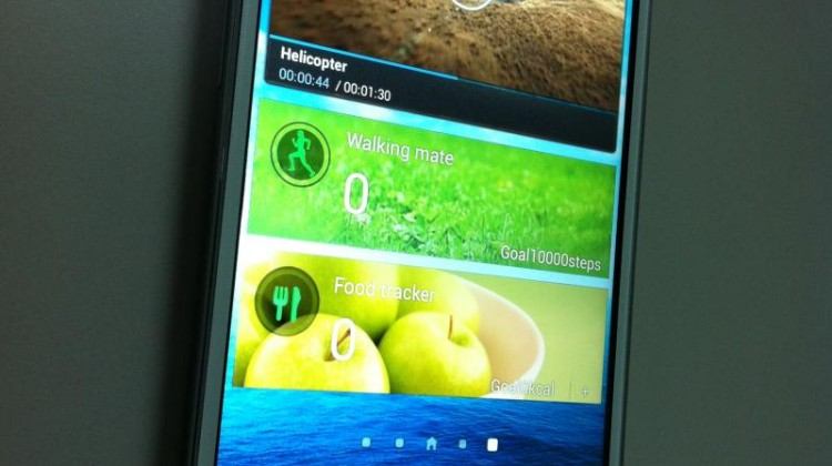 And more copying of Samsung's interface as well