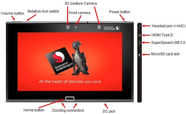 Snapdragon 805 MDP Front