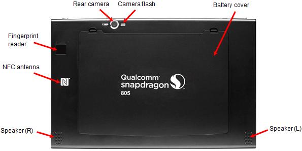 Snapdragon 805 MDP Back