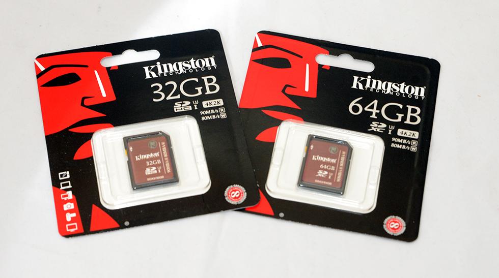 Kingston 4K SDXC Card