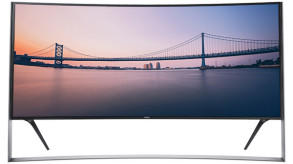 Samsung Curved 4K TV