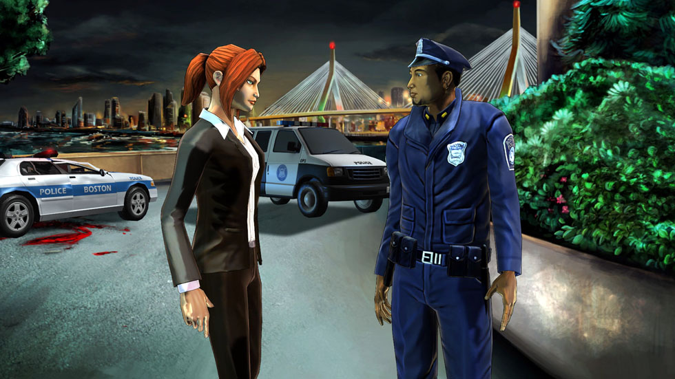Erica Reed, FBI, stars in Cognition