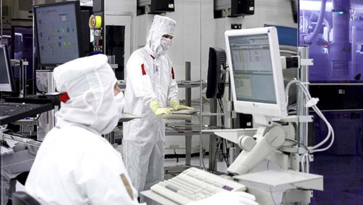 GlobalFoundries Cleanroom