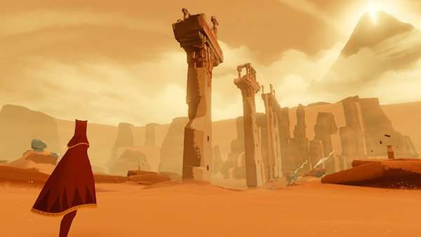 Journey was received as one of the best indies of all time for its amazing visual flair.