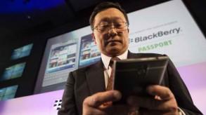 BlackBerry passport John Chen