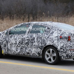 Spyshot of 2016 Chevrolet Volt. Copyright: Motorauthority.com