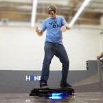 Tony Hawk rides the Hendo Hoverboard