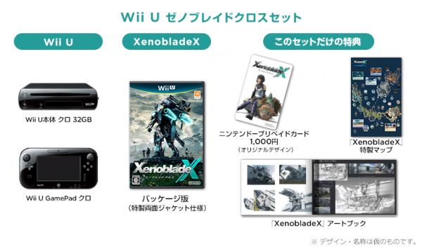 Xenoblade Chronicles Wii U bundle