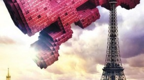 Paris is getting eaten by Space Invaders